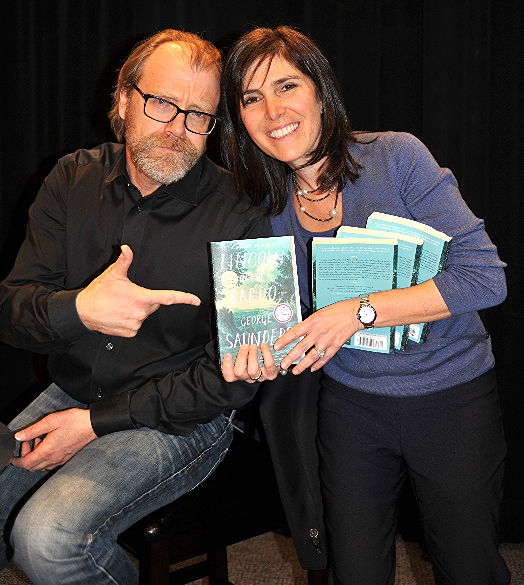 George Saunders and Jill Serling