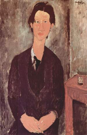 Amedeo Modigliani -- Portrait of Chaim Soutine