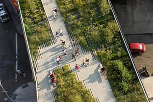 High Line overhead