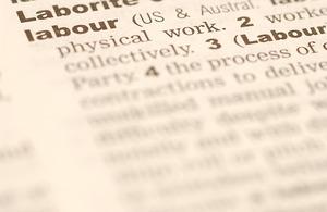 Labor defn