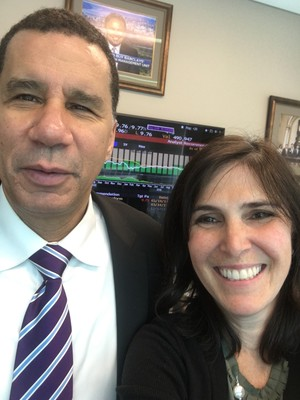 David Paterson and Jill Serling