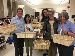 Basket Weaving Class fall 2017