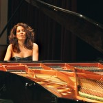 Cristiana Pegoraro at piano